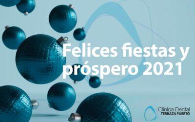 Felices fiestas y un próspero 2021